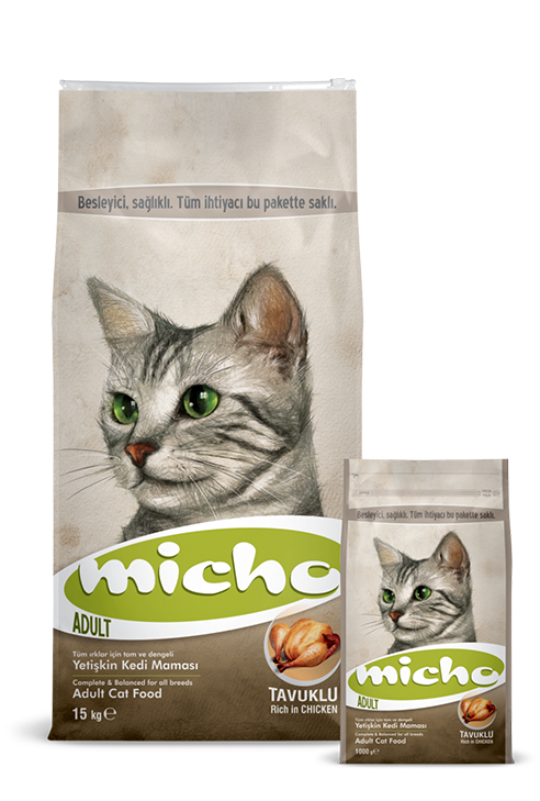Micho Premium Cat Food Packages