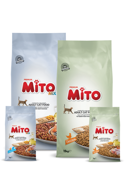 Mito Adult Cat Food Package