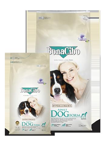 Bonacibo Adult Dog Form Package