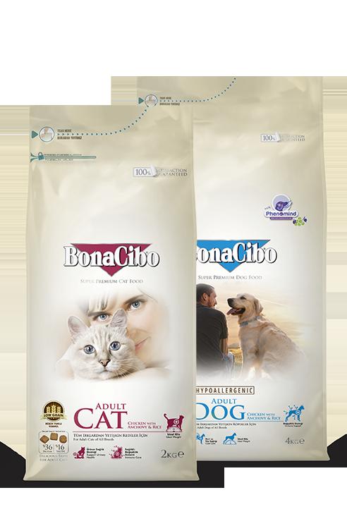 Bonacibo Super Premium Pet Food Packages