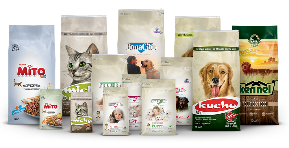 Çağatay Pet Food Brand Family