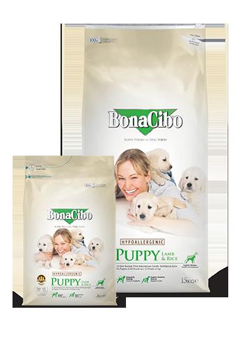 Bonacibo Puppy Lamb & Rice Package