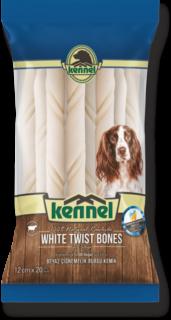 Kennel White Twist Bones