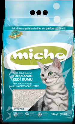 Micho İnce Taneli Bentonit Kedi Kumu