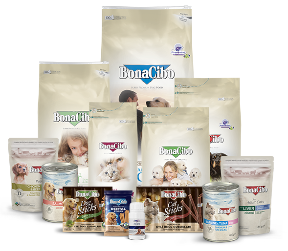 Bonacibo Super Premium Pet Food Product Family
