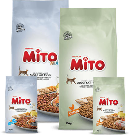 Mito Premium Cat Food Products