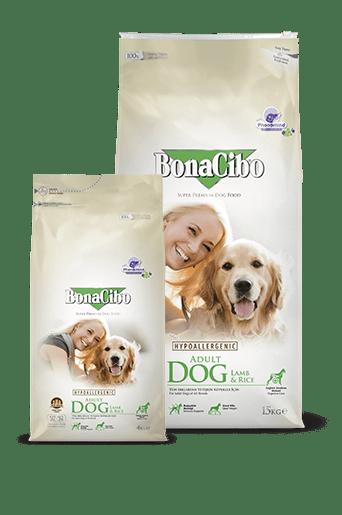 Bonacibo Adult Dog Lamb & Rice Package