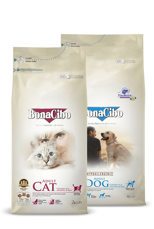 Bonacibo Super Premium Pet Food Packages