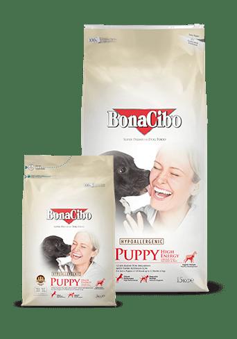 Bonacibo Puppy High Energy Package