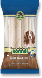 Kennel White Twist Bones