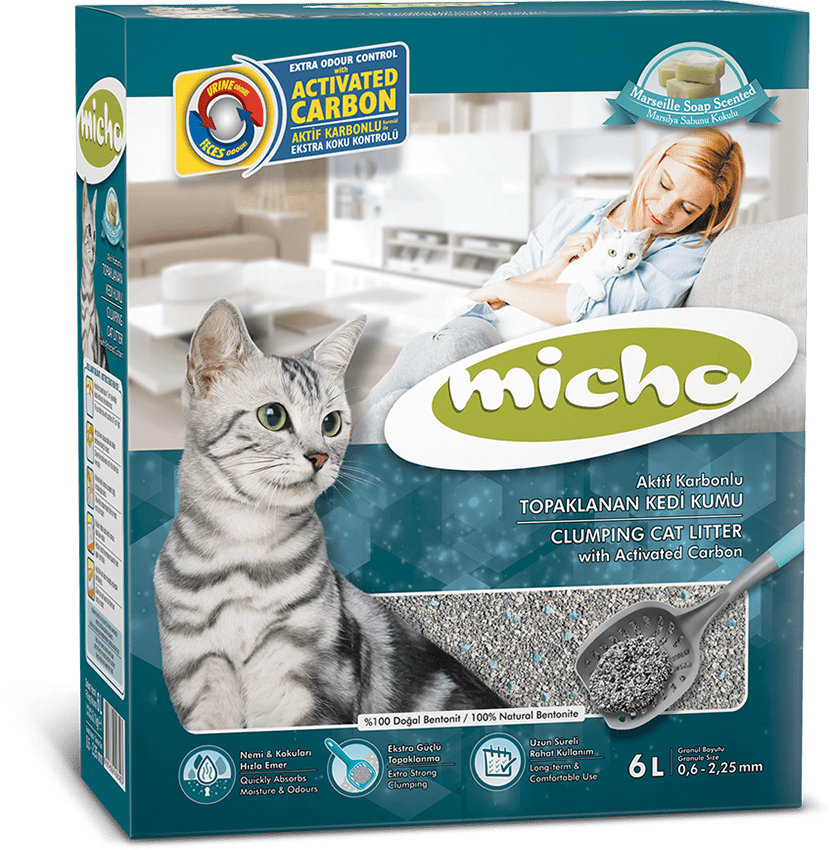 Micho Activated Carbon Cat Litter